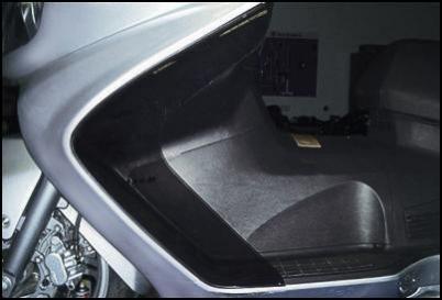 Windabweiser für Suzuki Burgman AN650 BJ. 2007-2012/ Burgman AN650 BJ. 2005-2006/ Burgman AN650 BJ.