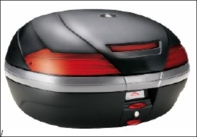 Top-Case 47 Liter inkl. unlackierter Abdeckung für Suzuki GSF650 BJ. 2005-2006/ GSF650 BJ. 2007-2008