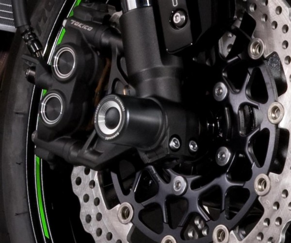 Achsenschützer Vorderrad Ninja ZX-10R 2015 Original Kawasaki