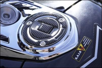 Tankdeckelschutz für Suzuki GSX1300 B-King BJ. 2008-2011