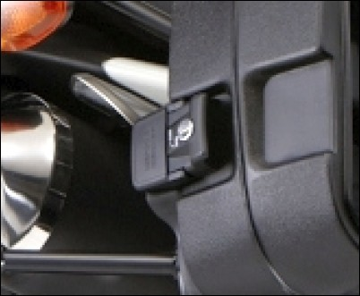 """Schlosssatz - Seitenkoffer/ Top-Case """"Touring"""" für Suzuki V-Strom 650 BJ. 2012-2016"""