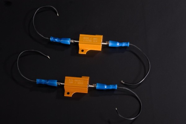 Resistor Kit I front and rear (4 turn signals) Ninja250R 2012 / Z1000 2009 Original Kawasaki