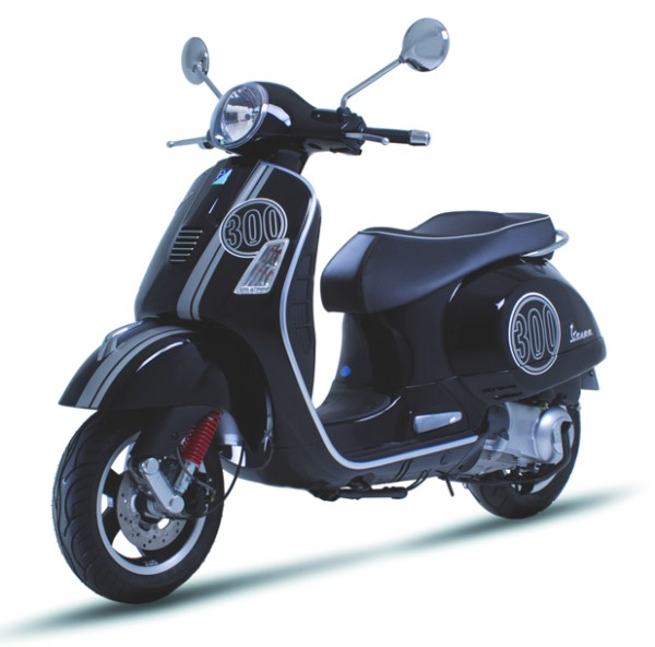 Original Vespa Sticker Kits (black) for Vespa GTS Super