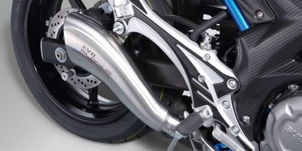 Yoshimura Gladius EVO für Suzuki SFV650 Gladius BJ. 2009-2016