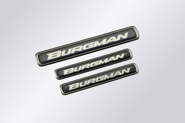 """Schriftzug """"Burgman"""" für Suzuki Burgman AN650 BJ. 2013-2017/ Burgman AN650 BJ. 2007-2012/ Burgman AN"""
