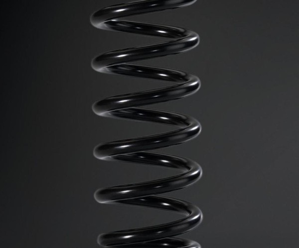 Shock absorber spring rear K = 51N / mm KX450F 2015 Original Kawasaki
