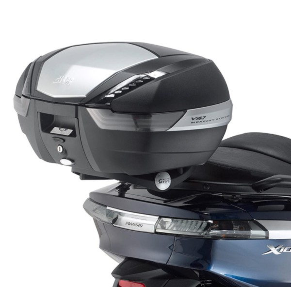 Givi topcase carrier black Monokey for Piaggio X10