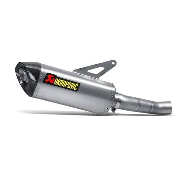 Akrapovic Rear Silencer Titanium Slip-On Line Ducati 1200 Monster / Ducati 1200 Monster S By 14-15