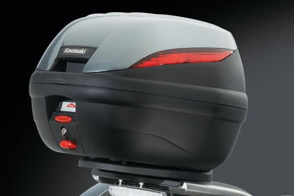 Top Case Cover Metallic Graphite Gray 1400GTR 2014 Original Kawasaki
