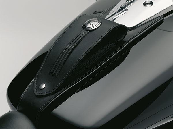 original honda vt750 shadow tankriemen aus lieder rwn. Black Bedroom Furniture Sets. Home Design Ideas