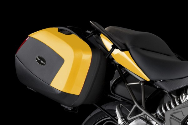 Abdeckungen für Motorradkoffer Pearl Shining Yellow Versys650 2014 Original Kawasaki
