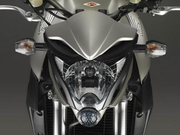 Original Honda CB 1000 R Windabweiser Scheinwerfer Titan Look