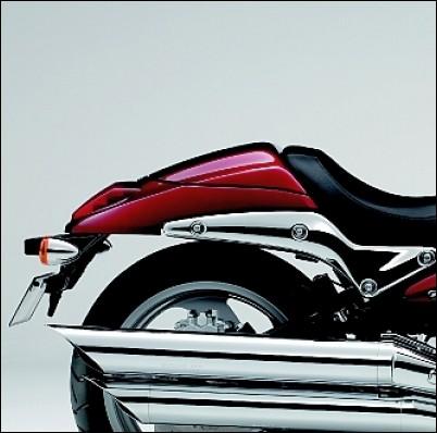 Soziusabdeckung, dunkelrot für Suzuki M1500 BJ. 2009-2010