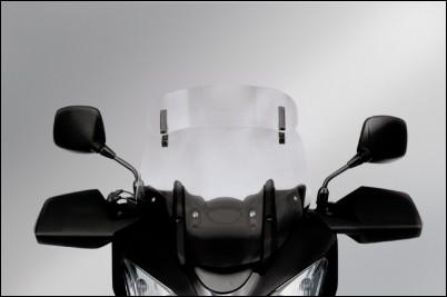 Vario-Touringscheibe (Klar) für Suzuki V-Strom 650 BJ. 2009-2011/ V-Strom 650 BJ. 2004-2008