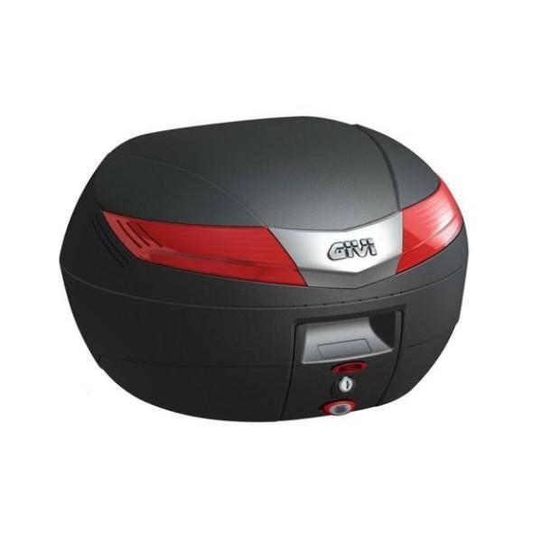 Givi V40 Topcase Monokey® - mit rotem Reflektor