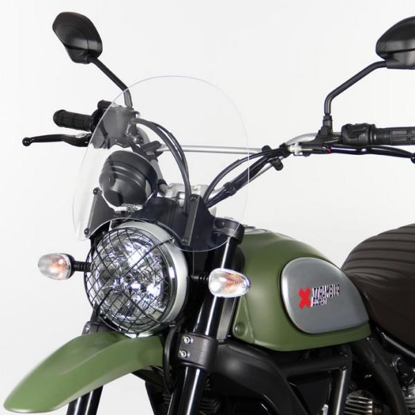 "MRA Ducati Scrambler - Tourenscheibe ""NT"" - klar"