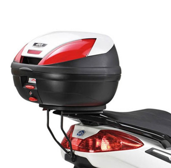Givi topcase carrier black for Monolock suitcase Piaggio X7 EVO 125i-300i year 09-