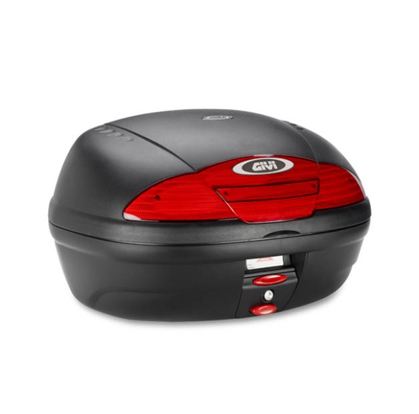 E450 Simply II MONOLOCK topcase black with plate Original Givi