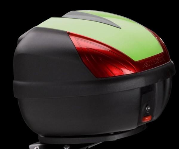 Top Case Cover (30 L) Candy Lime Green Type 3 ER-6f 216 / ER-6n 2016 Original Kawasaki