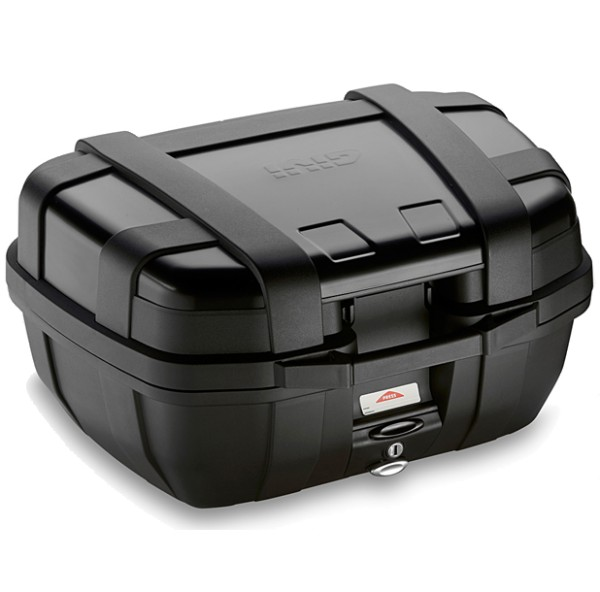 Trekker 52 liter MONOKEY top case with aluminum cover black Original Givi