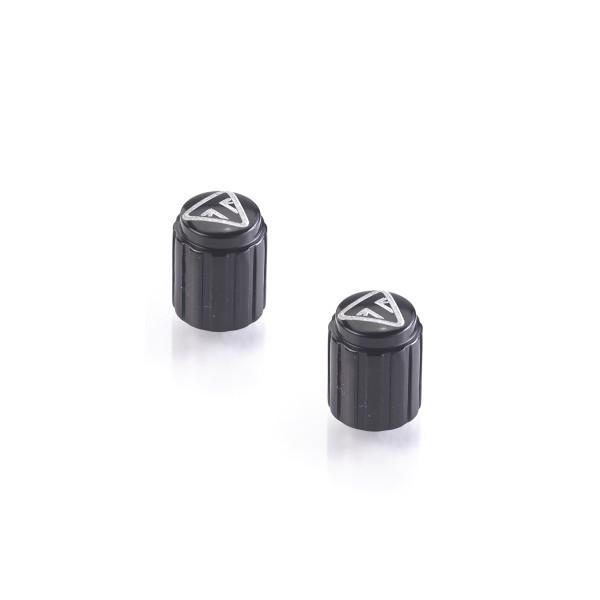 Ventilkappen Lasergraviert - Schwarz A2009036