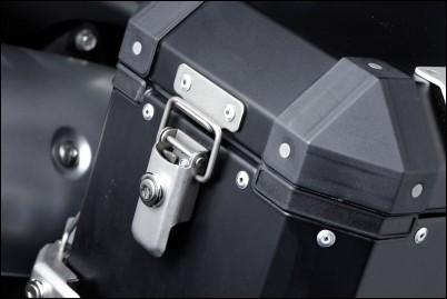 2 Schlösser - Alu Top-Case für Suzuki V-Strom 650 BJ. 2009-2011