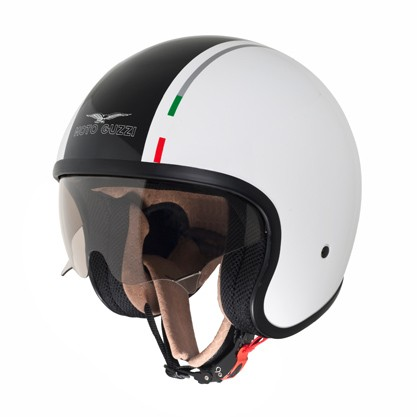 Original Moto Guzzi Jethelm - weiß