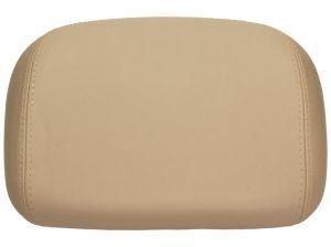 Original Vespa Rückenpolster, beige glatt