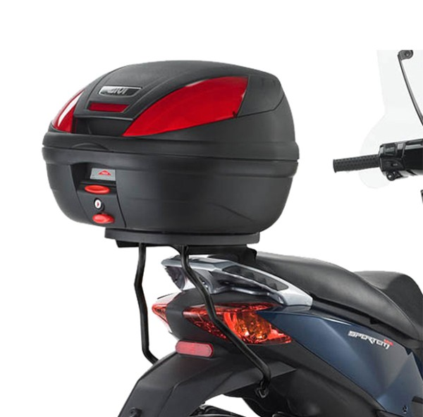 Givi topcase carrier without plate for monolock suitcase Aprilia Sportcity One 50-125cc