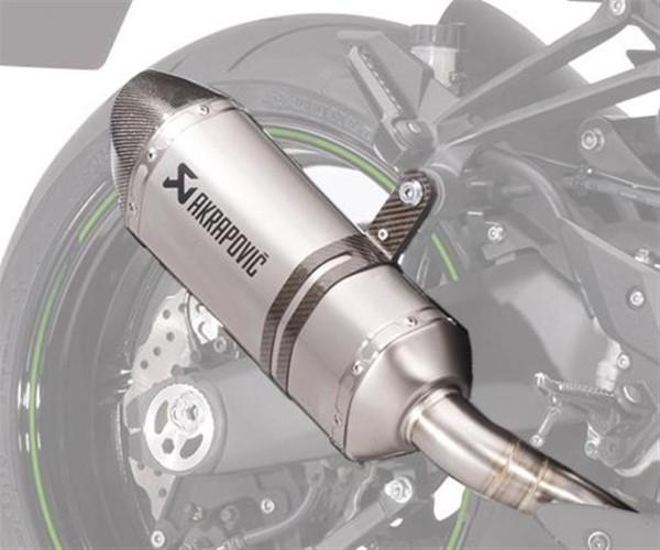Akrapovic-Auspuff Dual exhaust Titanium Z1000 MY17 Z1000 2017 Original Kawasaki