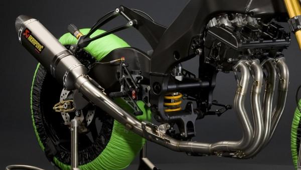 Akrapovic Exhaust System Ninja ZX-10R 2012 Original Kawasaki
