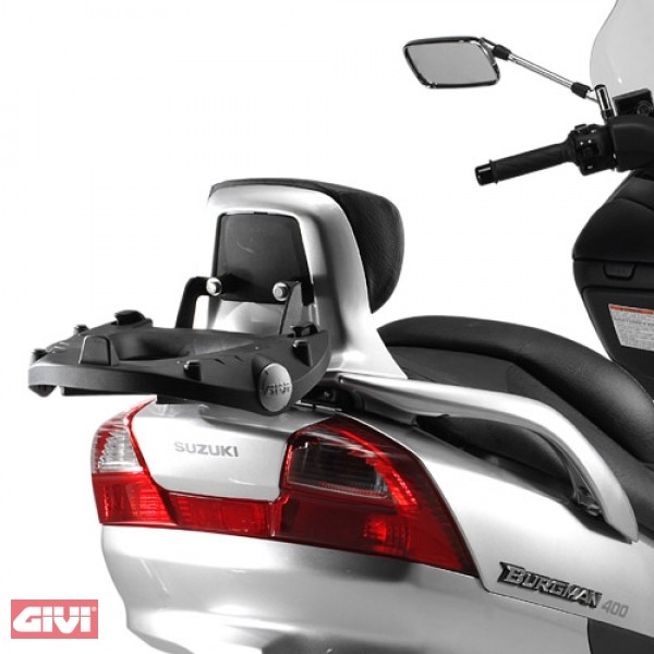 Givi Topcase Carrier Black for Suzuki Burgman K3-K6 250-400 Yr. 03-06