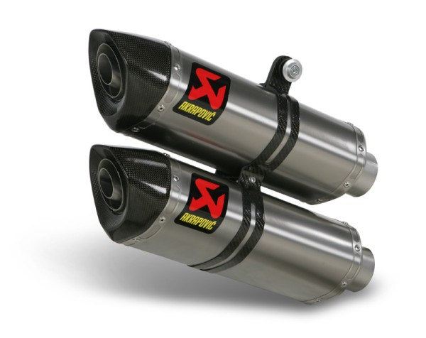 Akrapovic rear silencer Titan Slip-On Line Ducati 848 Streetfighter Bj 12-14 / Ducati 1100 Stree