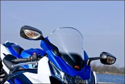 Racing Scheibe, Klar für Suzuki GSX-R1000 BJ. 2009-2011/ 2012-2016