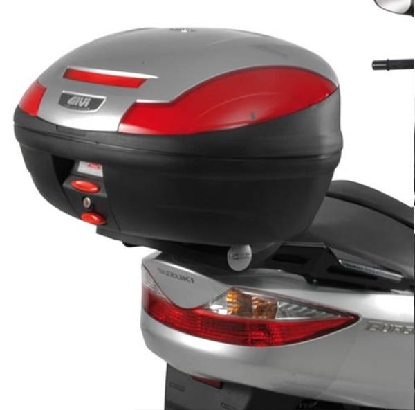 Givi Topcase-Träger schwarz für Monolock Koffer / Suzuki Burgman 125-200 K7-K8-K9