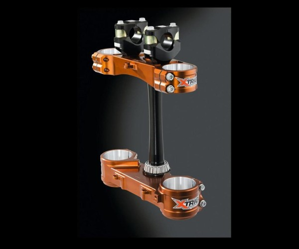 XTrig Triple Clamp Fork holder set M12, handlebar 22mm KX450F 2017 / KX450F 2015 Original Kawa