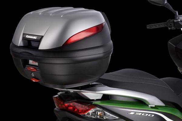 Metallic Satin Silver (Flat) J300 2014 Original Kawasaki