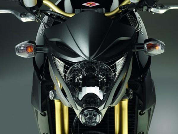 Original Honda CB 1000 R Windabweiser Scheinwerfer Matt Schwarz
