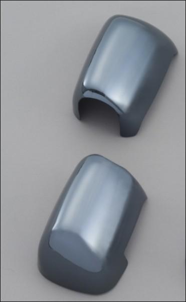 Spiegelabdeckung, Dunkel-Chrom für Suzuki GSX1300R Hayabusa BJ. 2008-2012/ GSX1300R Hayabusa BJ. 201