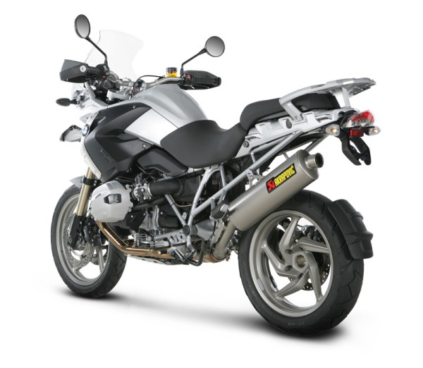 Akrapovic Endschalldämpfer Titan Slip-On Linie BMW R 1200 GS / Adventure Bj 10-13