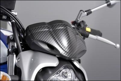 Tachoabdeckung, Carbon Optik für Suzuki SFV650 Gladius BJ. 2009-2016