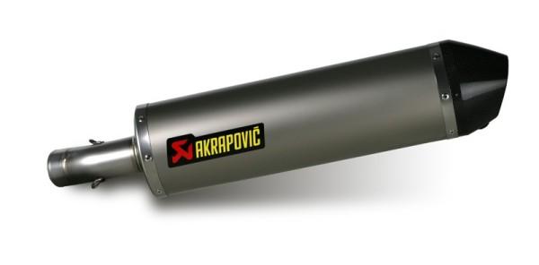 Akrapovic rear silencer Titan Slip-On line BMW F 650/700/800 GS / Adventure Bj 08-15