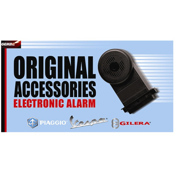 Alarm system E-1 for Vespa