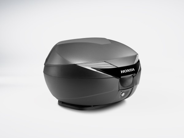 Original Honda CB 1100/ CB 1100 EX/ Forza 300/ PCX Dekor Abdeckung Top Case 39 LIter silber NHB29