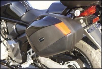 Abdeckung Seitenkoffer, schwarz für Suzuki GSF1250S Bj. 2007-2014/ GSF1250S BJ. 2015-2016