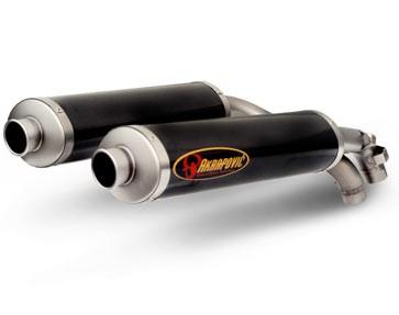 Akrapovic Muffler Carbon Slip-On Line Ducati 998 S / R Testastretta Bj 02