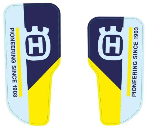 Gabelschutz-Aufkleberset für Husqvarna FS 450 Original