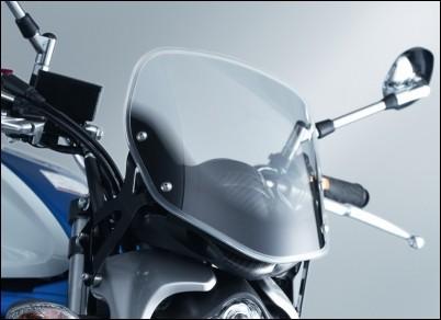 Windschild für Suzuki SFV650 Gladius BJ. 2009-2016