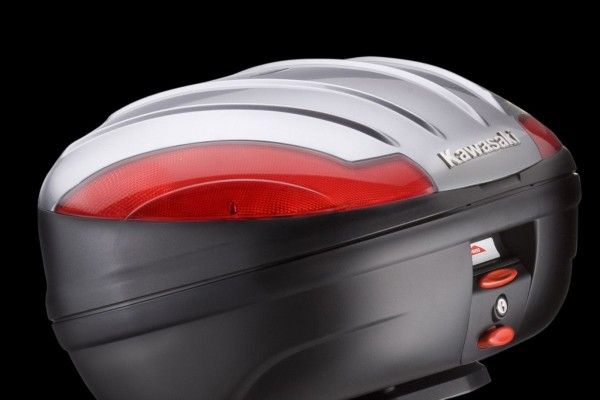 Top Case-Abdeckung 47 L Metallic Graphite Grey 1400GTR 2014 Original Kawasaki