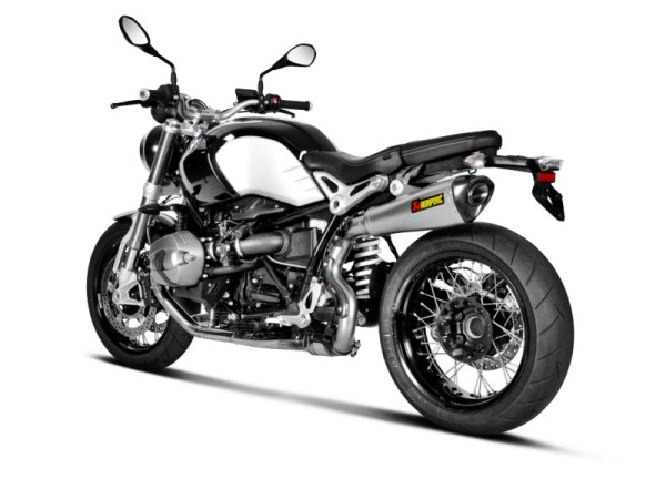 Akrapovic rear silencer titan slip-on line BMW R NINET year 14-15